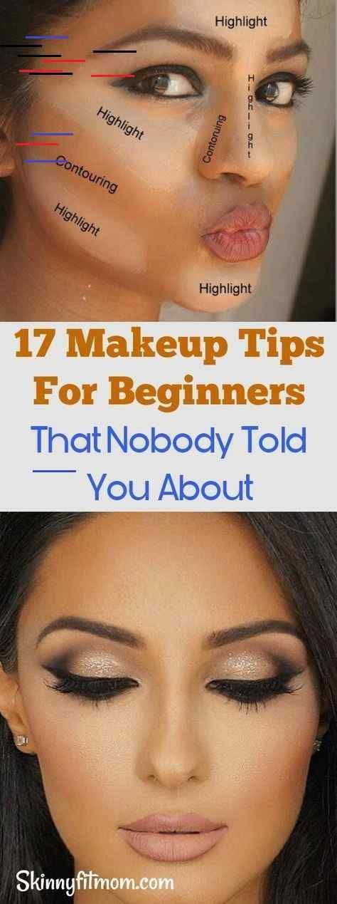 Photo of 17 makeup tips for beginners about the n … –  17 makeup tips for beginners tha…