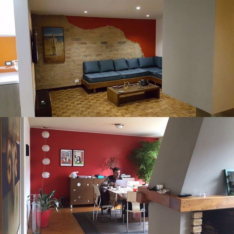 Antes Y Despu S De Un Apartamento Delos A Os 50 Bogot  # Muebles Lula Medellin