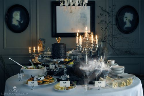 Halloween table decorations Products I Love Pinterest