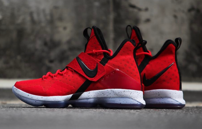78ed7faea312a5 Nike LeBron 14 University Red 852405-600 - Sneaker Bar Detroit ...