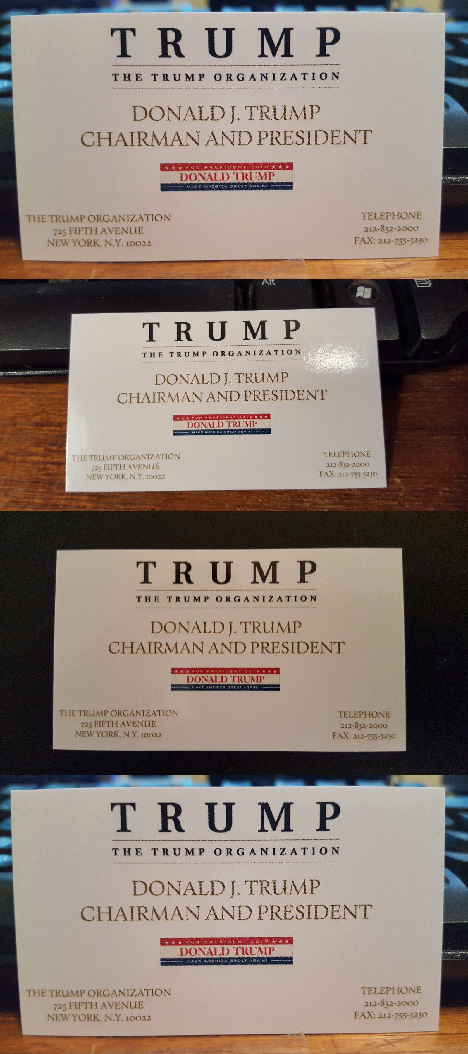 Donald trump donald trump business card republican president gop donald trump donald trump business card republican president gop presidential race 2016 new colourmoves