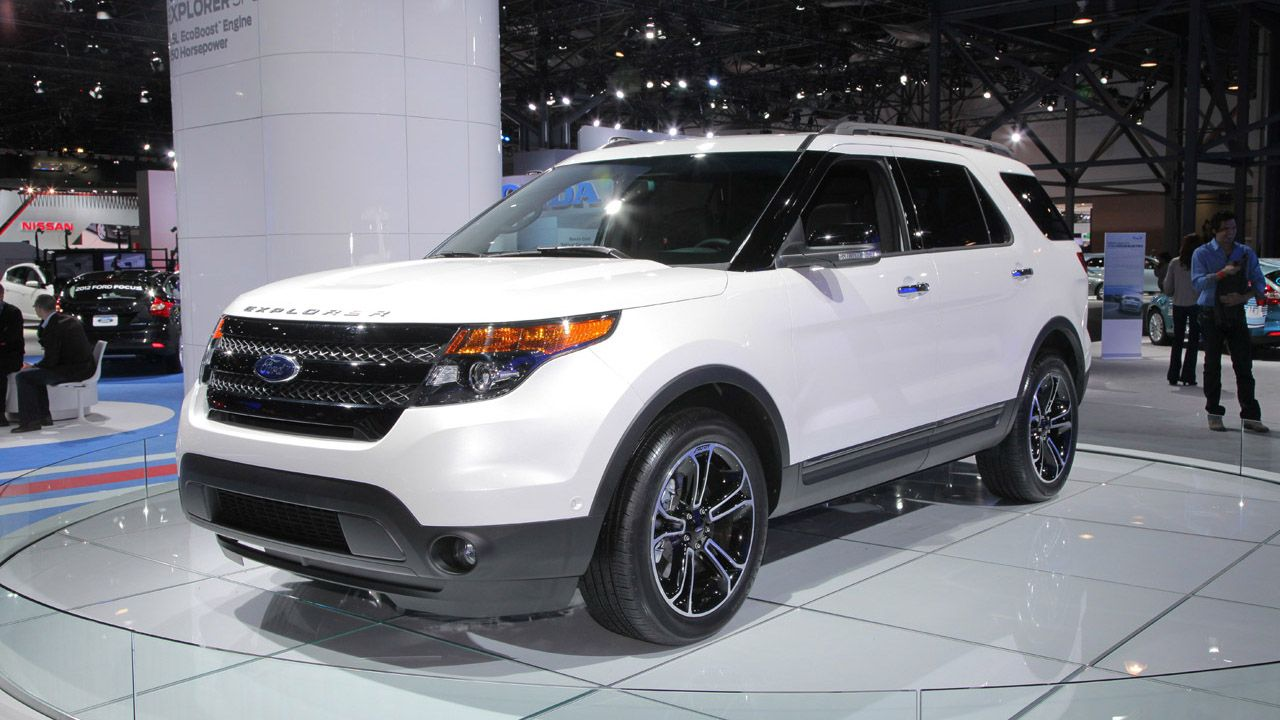 2015 Ford Explorer 3 Carros Quadriciclo Auto
