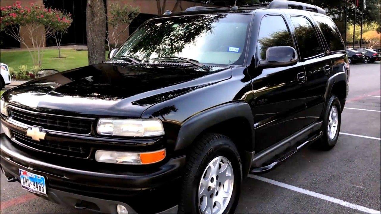 2003 Chevrolet Tahoe Z71 4x4 For Sale 5200 Youtube In 2020