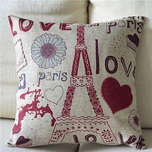 oreiller paris Decorative Pillows   Paris Cotton Decorative Pillow Cover | Heart  oreiller paris
