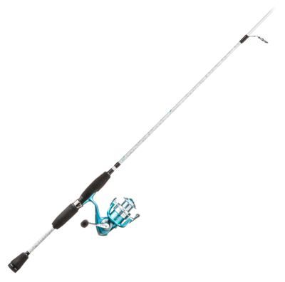 Pflueger Lady Trion Rod And Reel Spinning Combo Rod Reel
