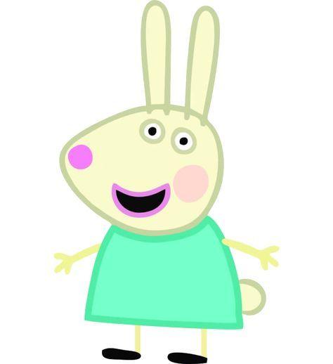 Image result for peppa pig rebecca rabbit