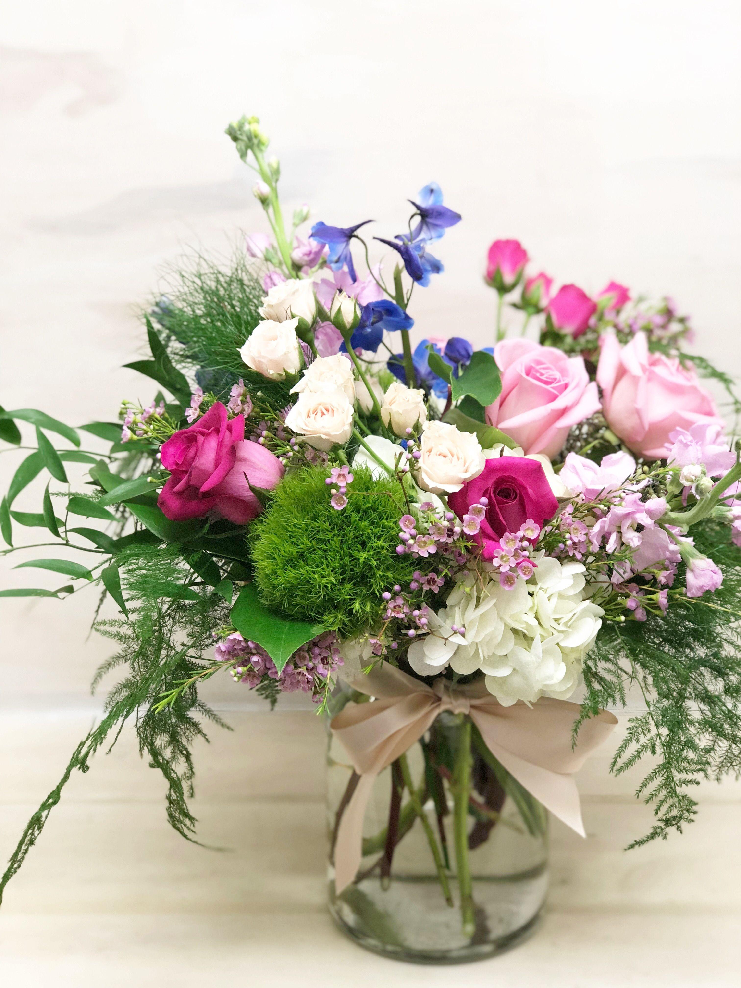 Brushstrokes And Blooms Flower Arrangements English Garden Floral Arrangements
