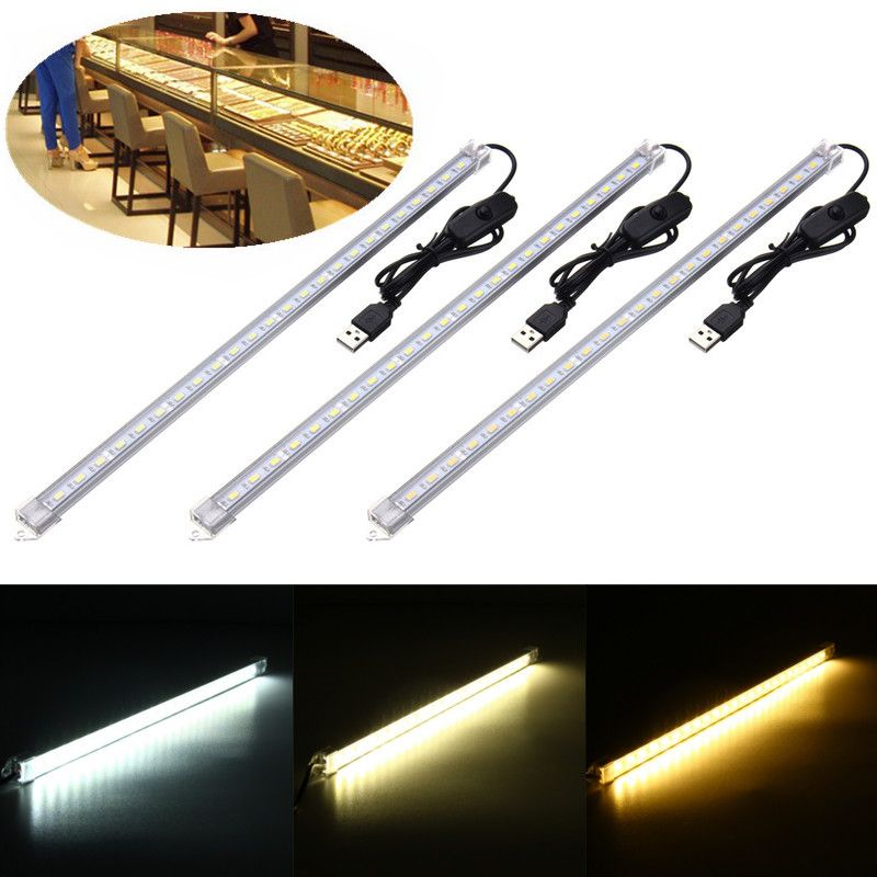 35cm 7w 24 Smd 5630 Usb Led Rigid Strip Hard Bar Light Tube Lamp Dc5v Led Strip From Lights Lighting On Banggood Com Tube Lamp Bar Lighting Led