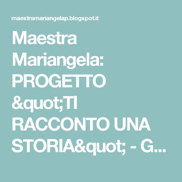 """Maestra Mariangela: PROGETTO """"TI RACCONTO UNA STORIA"""" - GENITORI LETTORI   A.S 2014/15"""