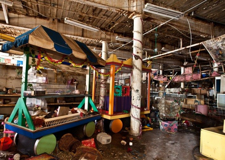 Abandoned Places The Toy Loft Store Arcade Golf