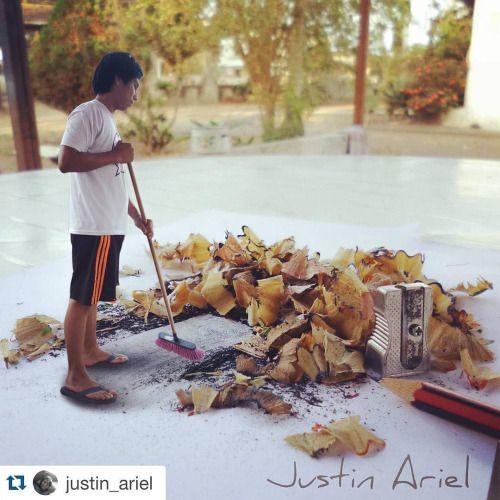 #Repost @justin_ariel with @repostapp.  Ven ayudame a limpiar...