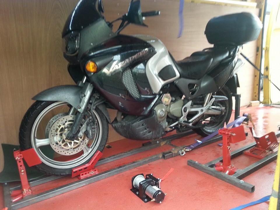 Varadero 1000 transported from Derbyshire