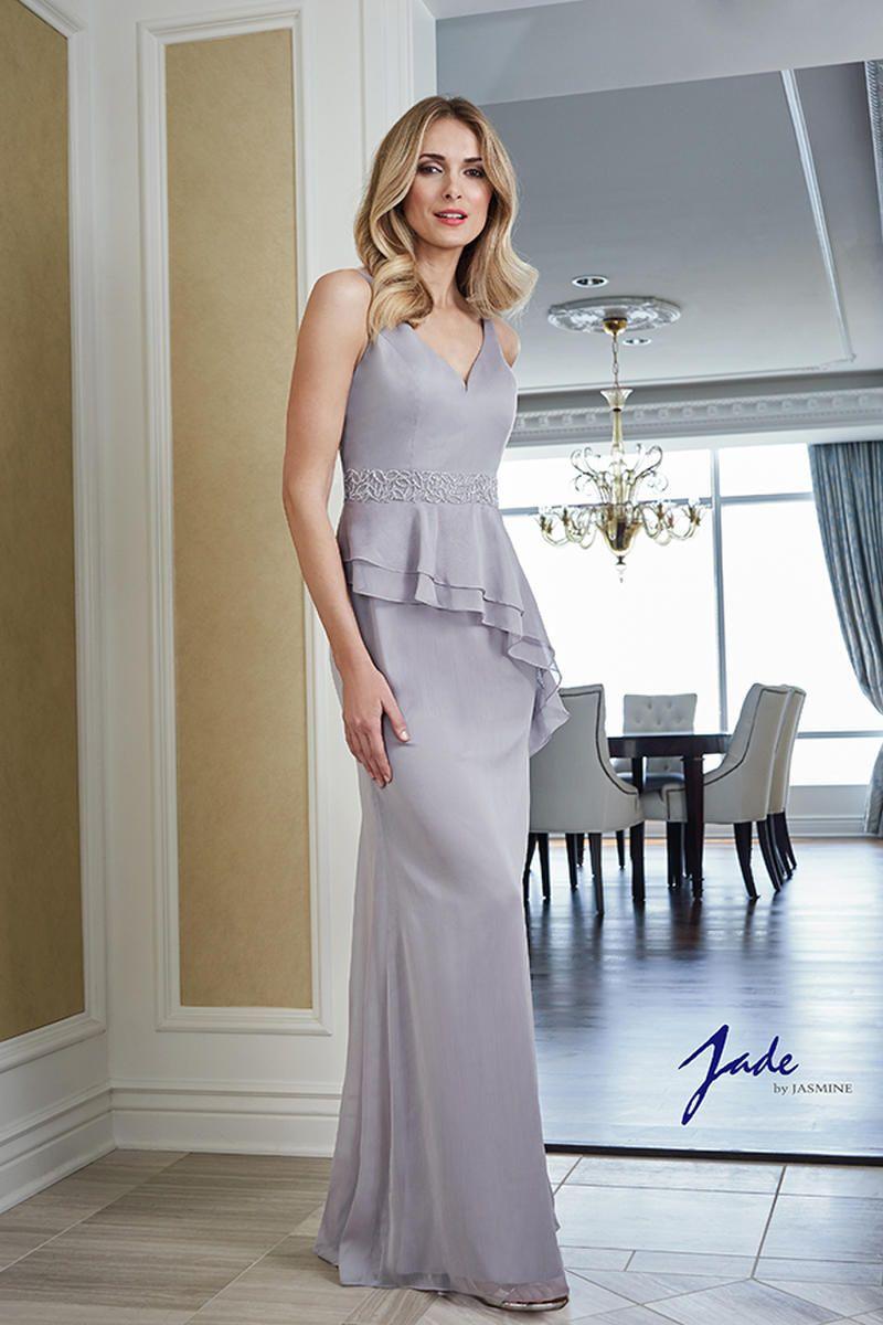 Elegant mother of the bride or groom dresses jade by