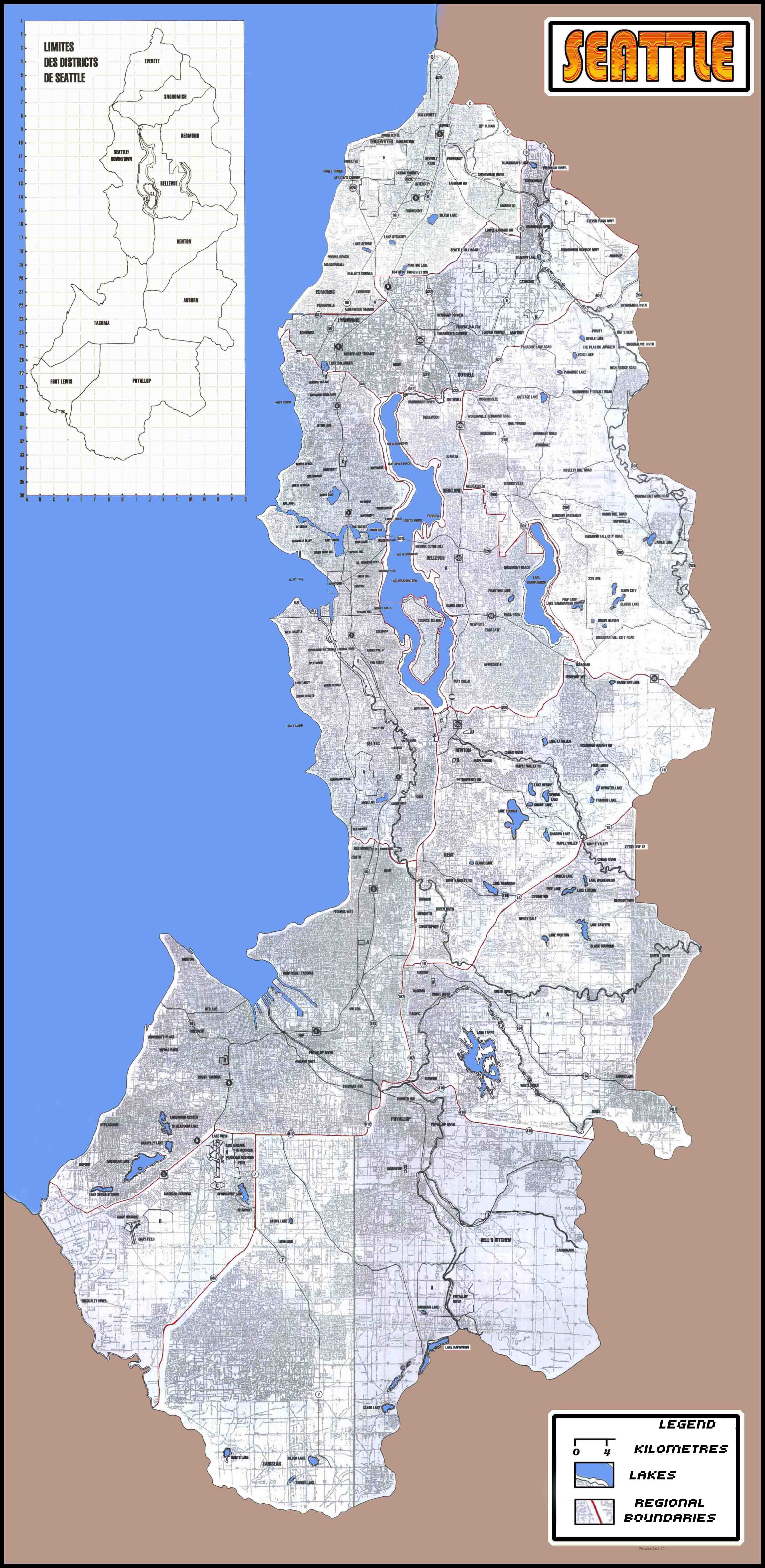 Seattle map Shadowrun 2017 The Mark of the Black Sign Campaign