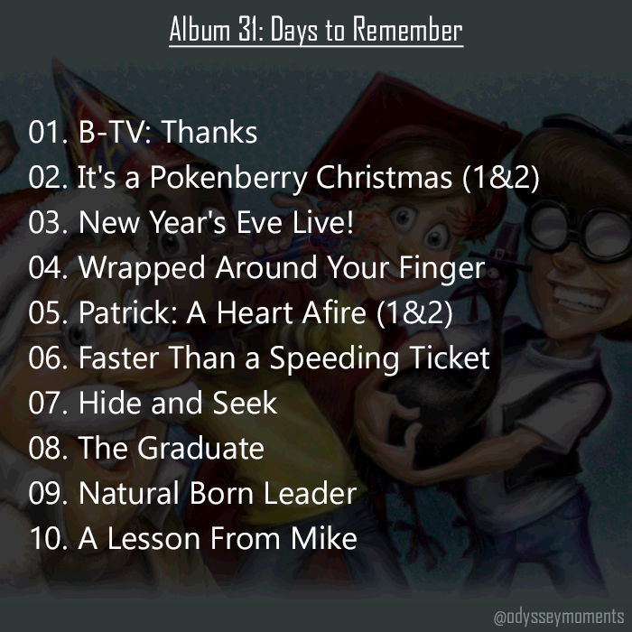 31 Days To Remember New Years Eve Live Remember Adventures In Odyssey
