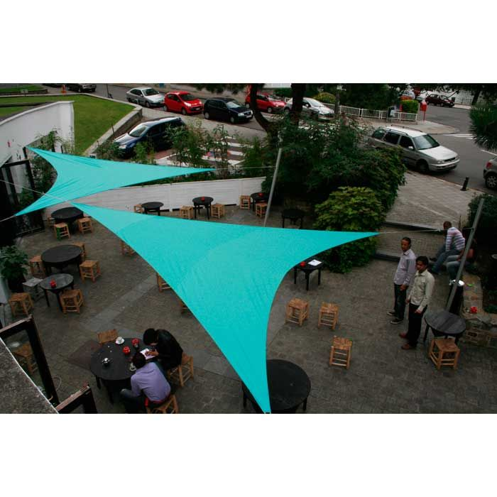 Schaduwdoek 4x5x6,4 driehoek Limited Edition - Umbrosa