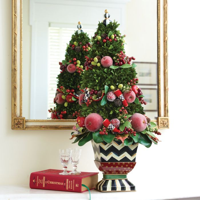 MacKenzie-Childs - Courtly Christmas Tabletop Tree