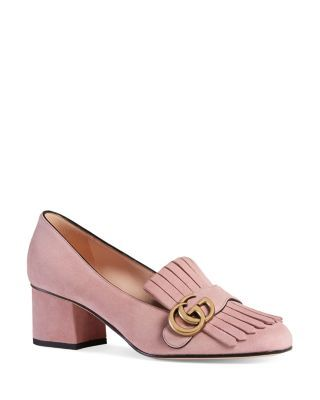3345ed564bc Women's Marmont Suede Mid-Heel Pumps   Purses & Shoes   Heeled ...