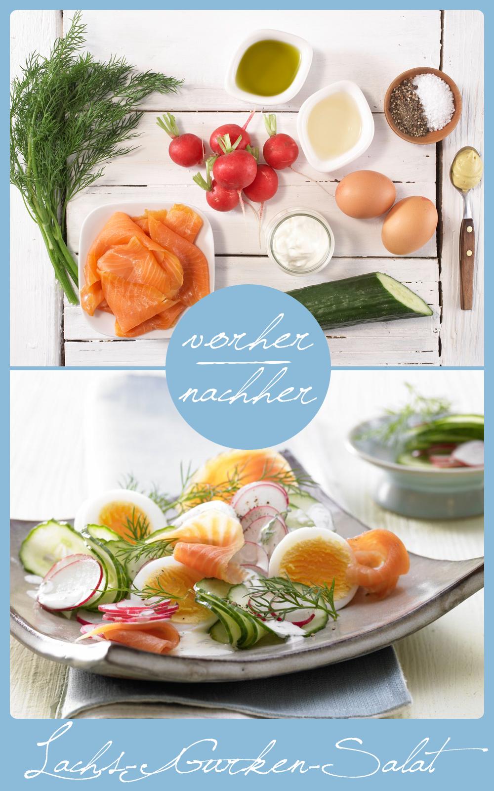 lachs gurken salat rezept eat healthy eat smarter pinterest salat essen und rezepte. Black Bedroom Furniture Sets. Home Design Ideas