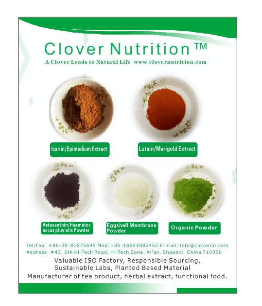 A Clover Nutrition Inc Located In Herbal Extract Center Of Xi An Shaanxi We Supplied To Some Of The Top Food Companies In U Company Meals Nutrition Herbalism