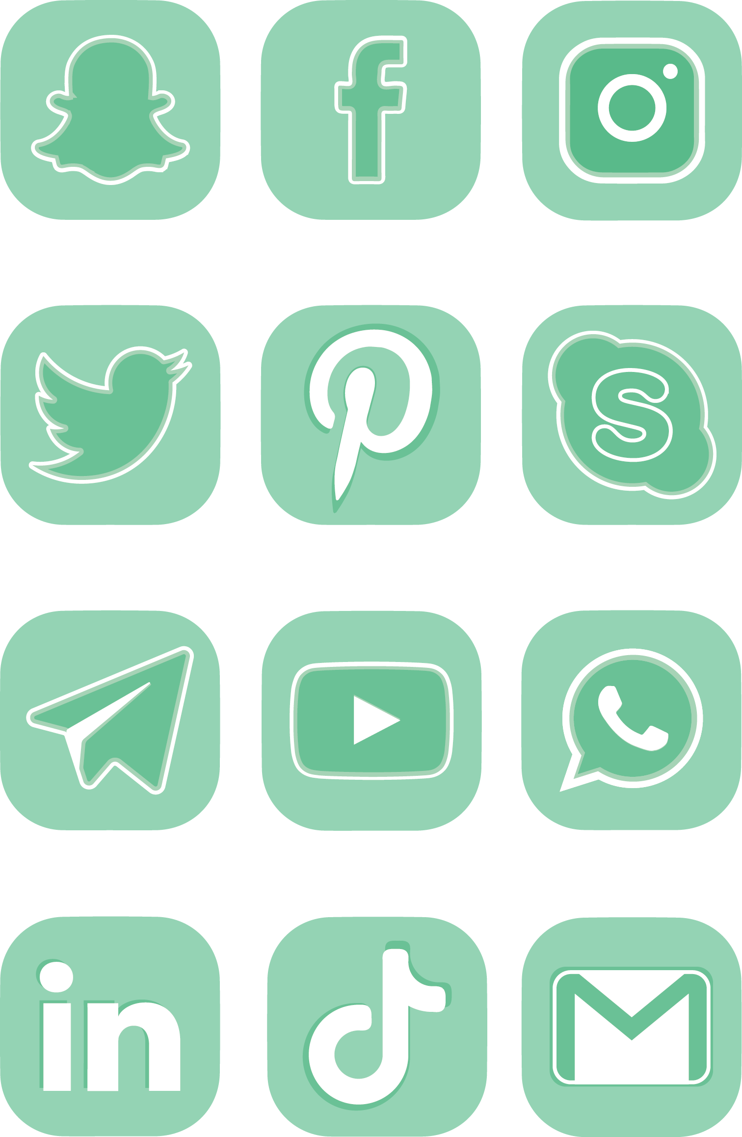Logos for free use by kiwiimir iconicons Mint, Menta