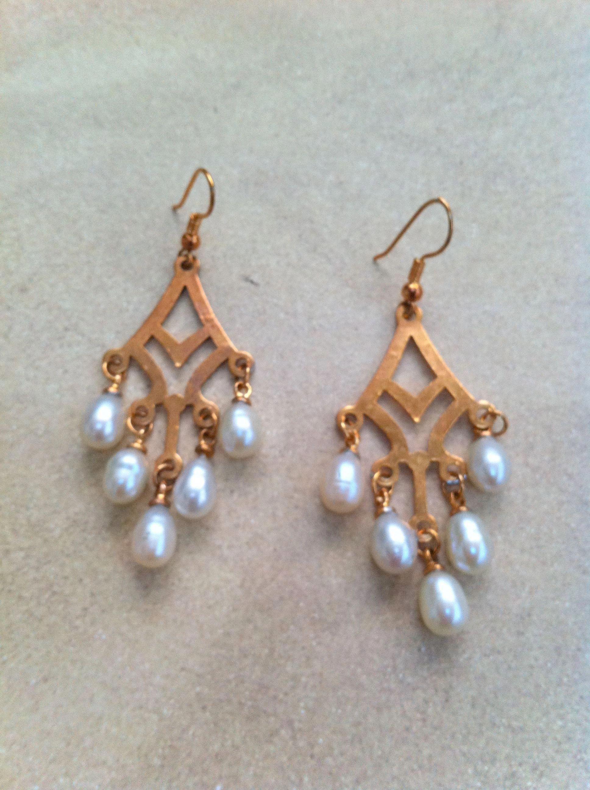 Diamond Chandelier Earrings For Wedding India Gift