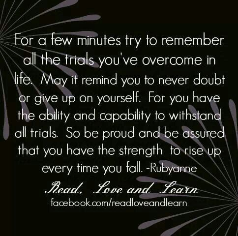 Quotes about Strength / Never Give Up / shared via www