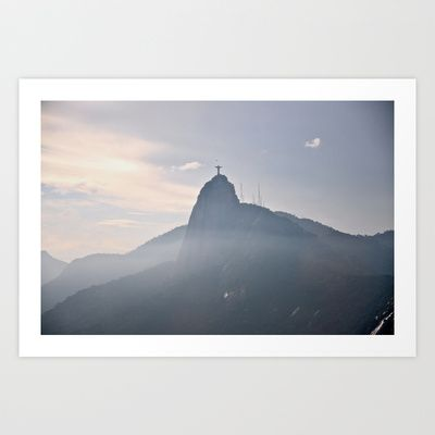Christ Redeemer  Art Print by Daniela C. Bento / D121383 - $25.00