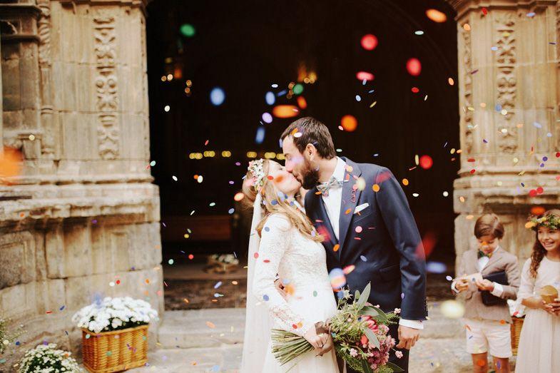 love a good confetti kiss