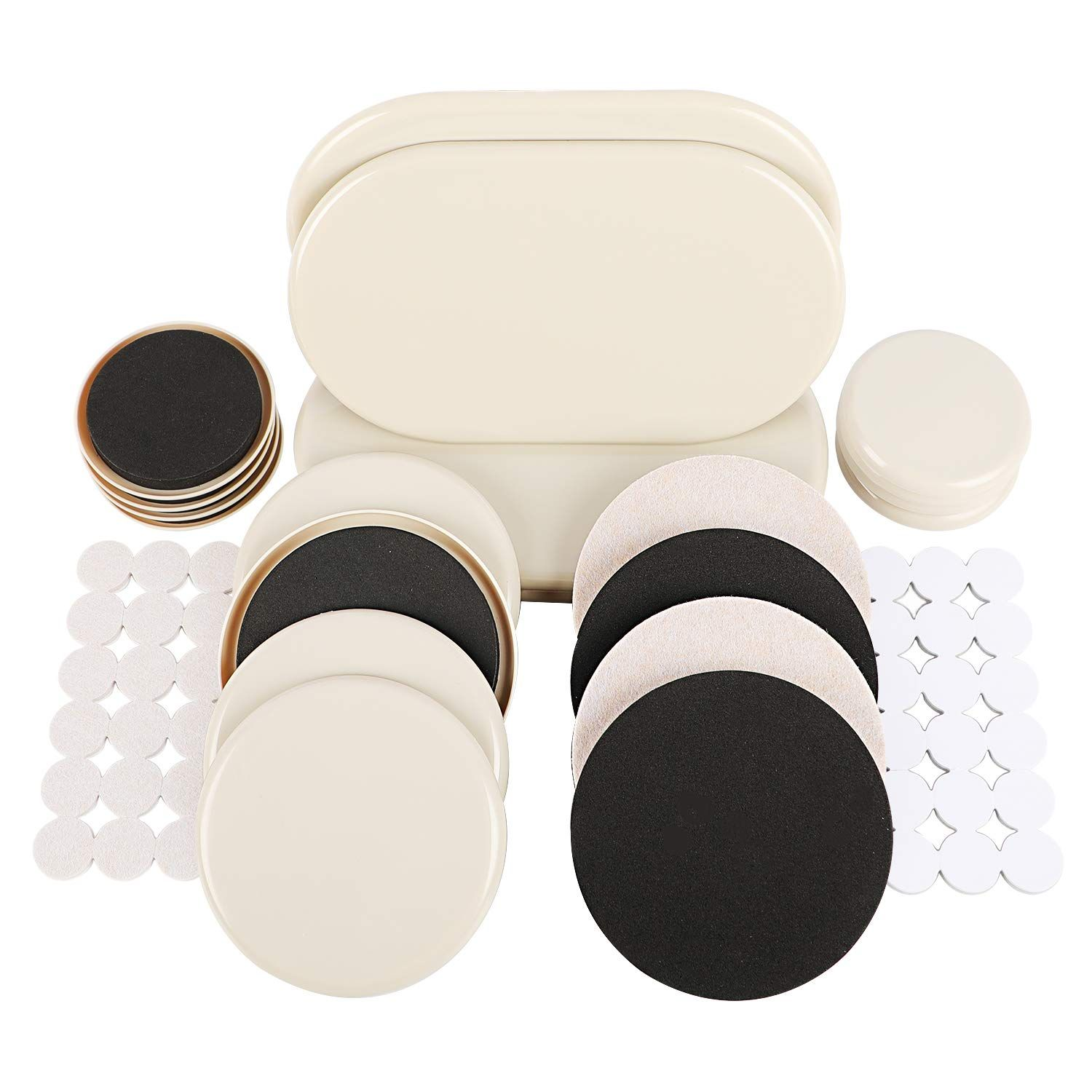 56 Pcs Furniture Sliders And Furniture Pads For Heavy Furniture Carpet Large Moving Sliders Furniture Sliders Furniture Pads Furniture Hardware