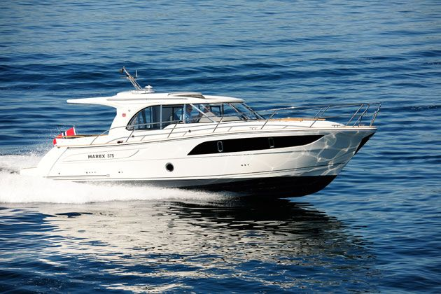 Marex 375 Review Motor Boat Yachting Boat Motor Boats Yacht