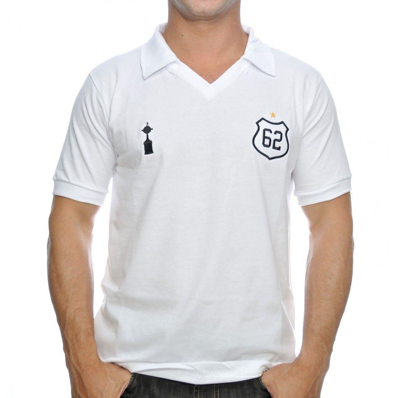 6365156af Camisa Retrô Santos 1962