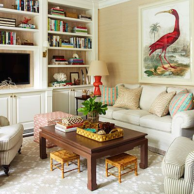 No. 5 Layer Neutrals for a Comfy Retreat - 8 Fresh Decorating Resolutions - Southern Living
