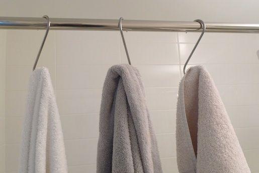 Space Saving Bathroom Towel Hook Solution Pot Hooks Space Saving Bathroom Hang Towels In Bathroom Bathroom