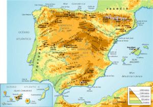Sistemas montaosos mapa fisico espana gumiabroncs Choice Image