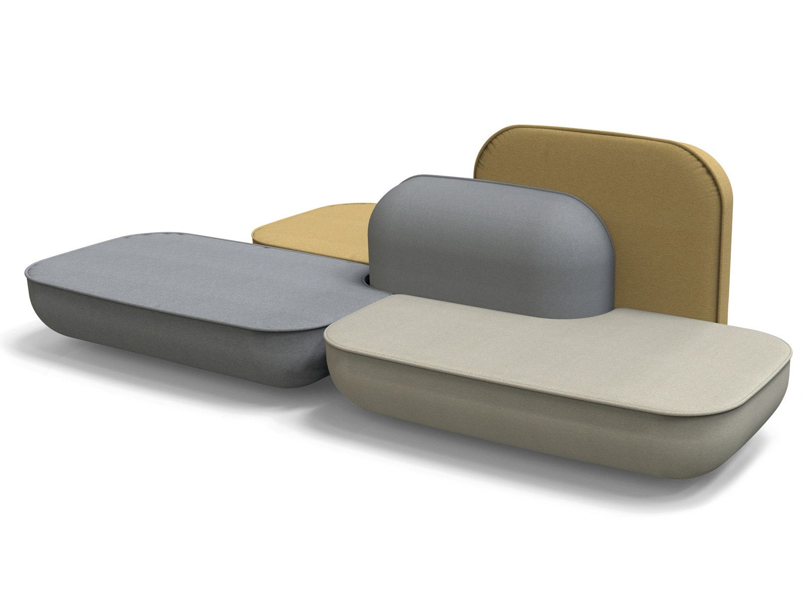 Divano componibile modulare OKOME O07 by Alias | sofa | Pinterest ...