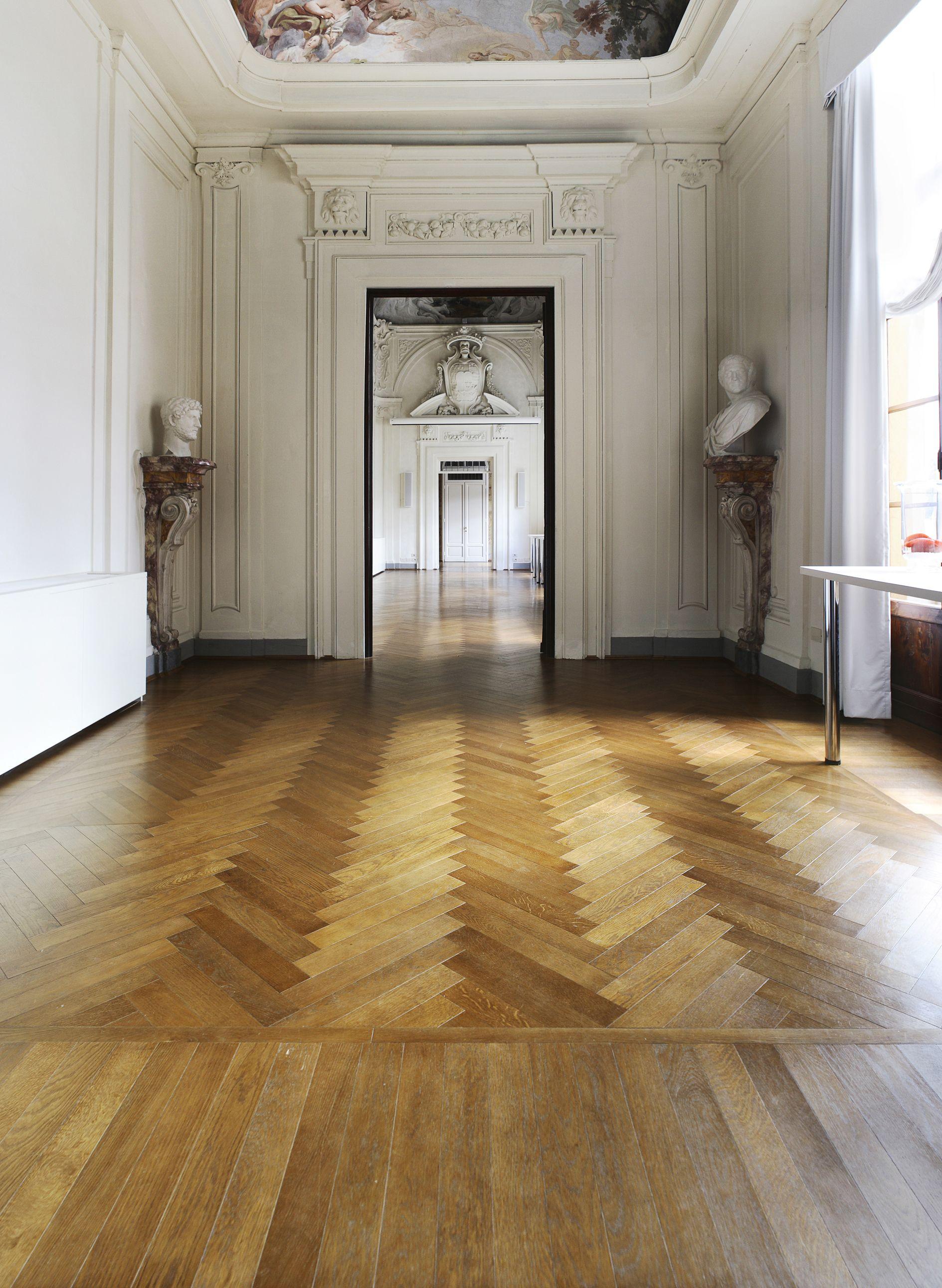 Solid Oak Blocks Flooring | Old Style Flooring | Pinterest ...