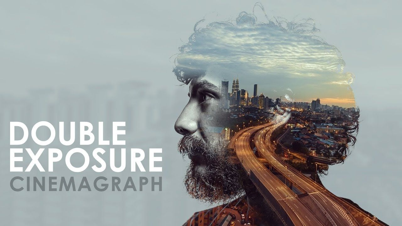 Double Exposure Effect in Photoshop - Easy and
