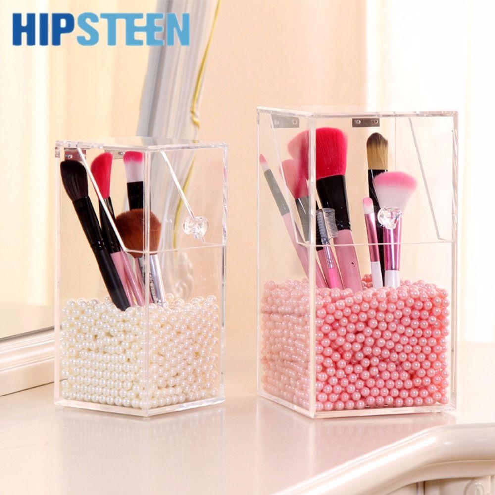 HIPSTEEN Clear Acrylic Makeup Holder Pen Organizer DIY