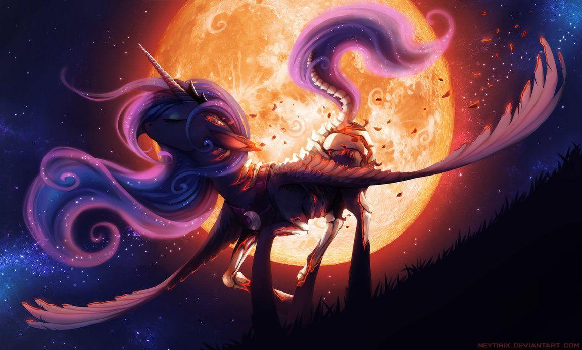MLP: Nightmare Before Christmas 2 Luna   my little pony   Pinterest ...