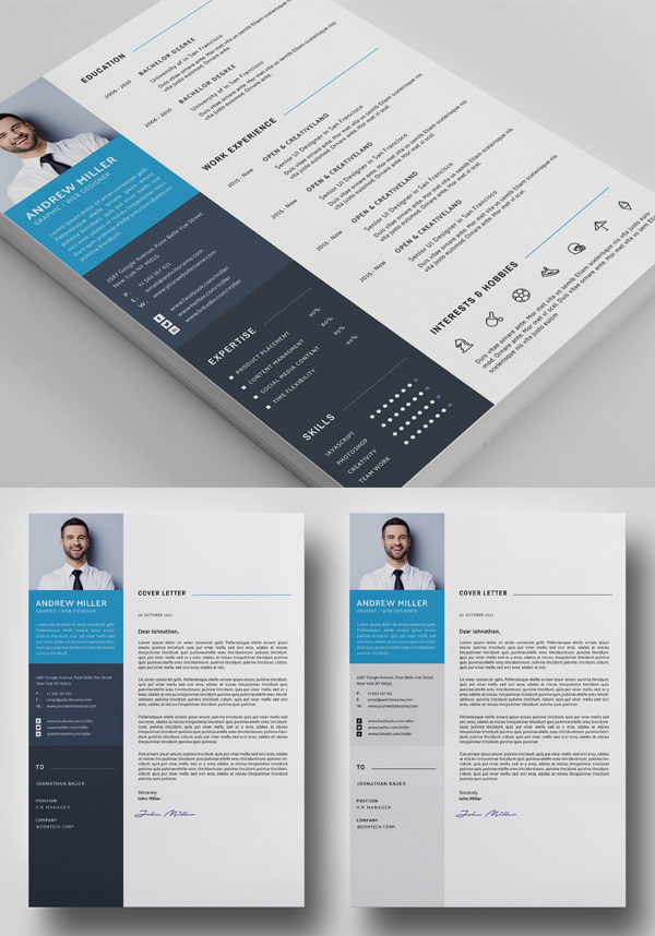 Word Cv Resume Simple Resume Template Clean Resume Template Printable Business Cards