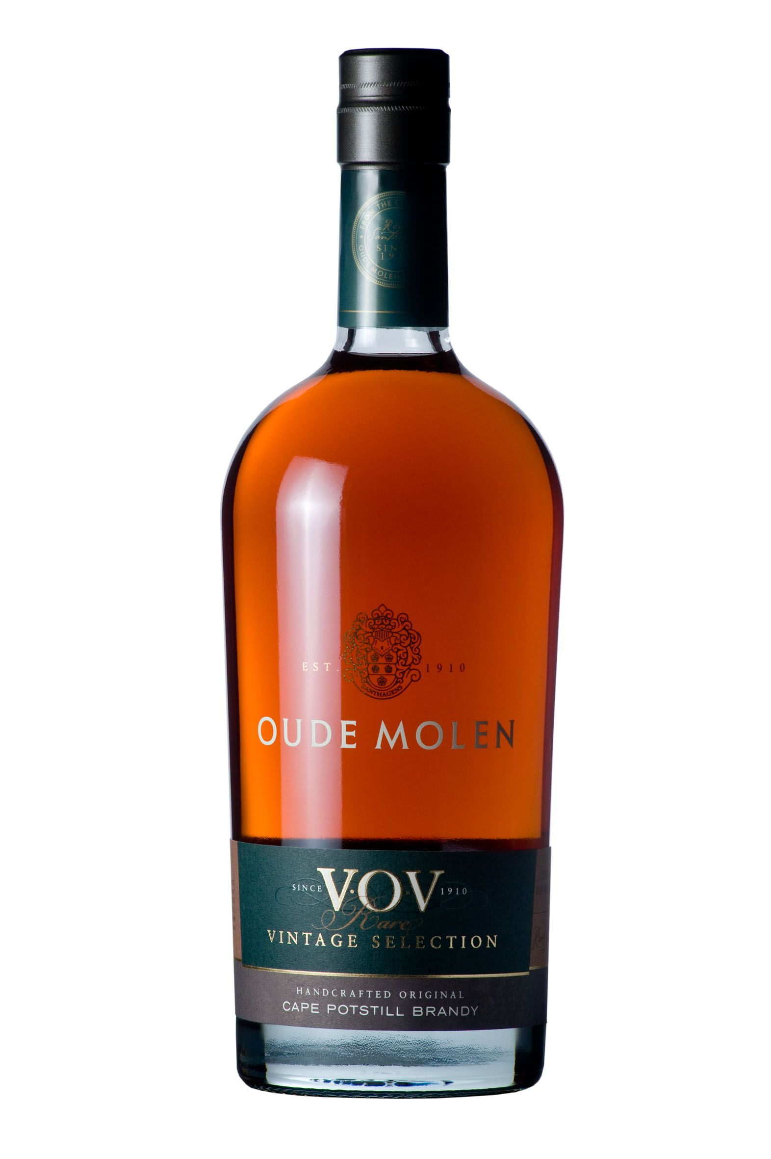 Oude Molen Vov Rare Vintage Selection A Vintage Brandy South African Wine Wine Bottle Brandy