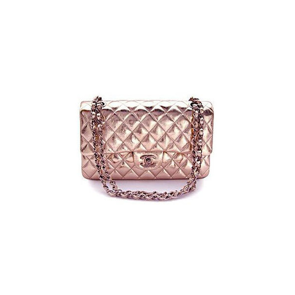 [CHANEL/バッグ] マトラッセライン シャイニーカーフスキン 限定サイン入りショルダーバッグ ピンクゴールド - FATAG... ❤ liked on Polyvore