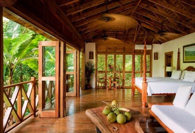 Vintage spanish island bedroom verandah and lounge for Bedroom designs in jamaica