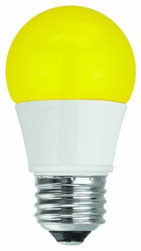 Tcp 40 Watt Equivalent Singlepack Led Yellow Bug Light Bulbs Nondimmable Rla155y Details Can Be Found Outdoor Light Bulbs Led Light Bulb Colored Light Bulbs