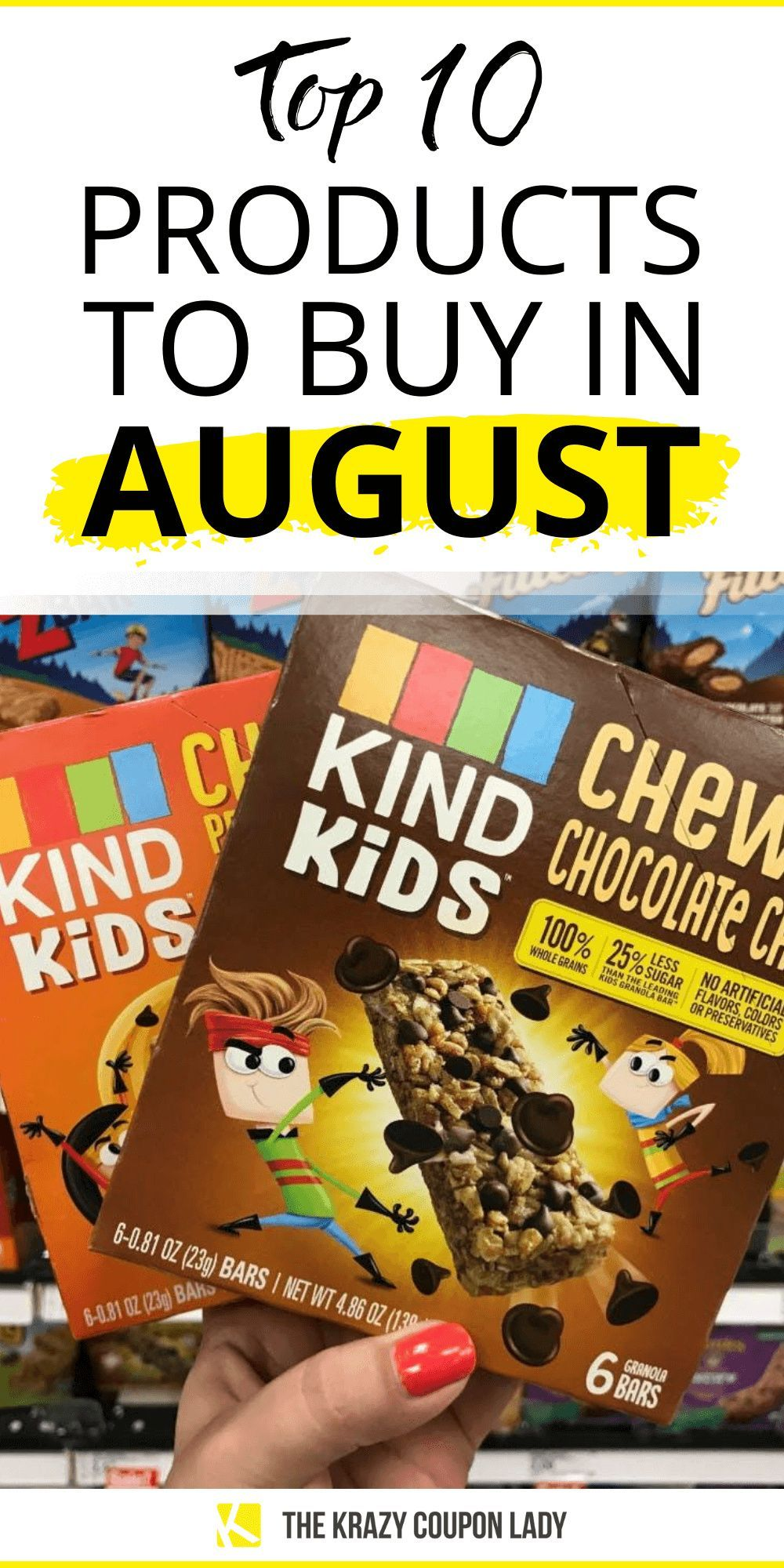 Top 10 Back To School Supplies And Groceries To Stock Up On In August In 2020 Best Money Saving Tips The Krazy Coupon Lady Lunch Box Recipes