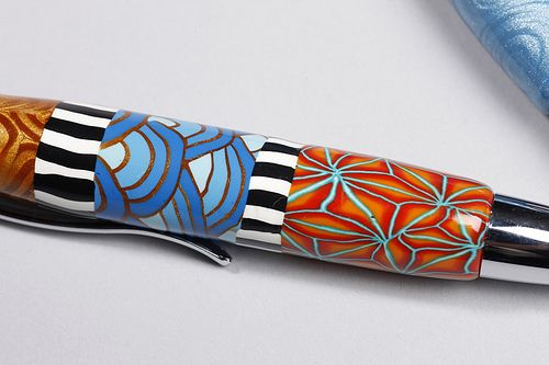 New Pen close up by Wanda's Designs, via Flickr
