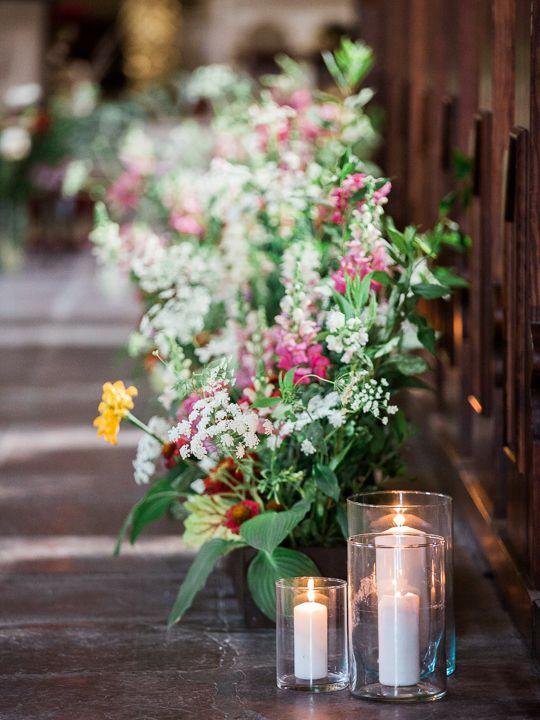 Church Wedding Decor Wild Aisle Decorations Dekoracje Kościoła Na