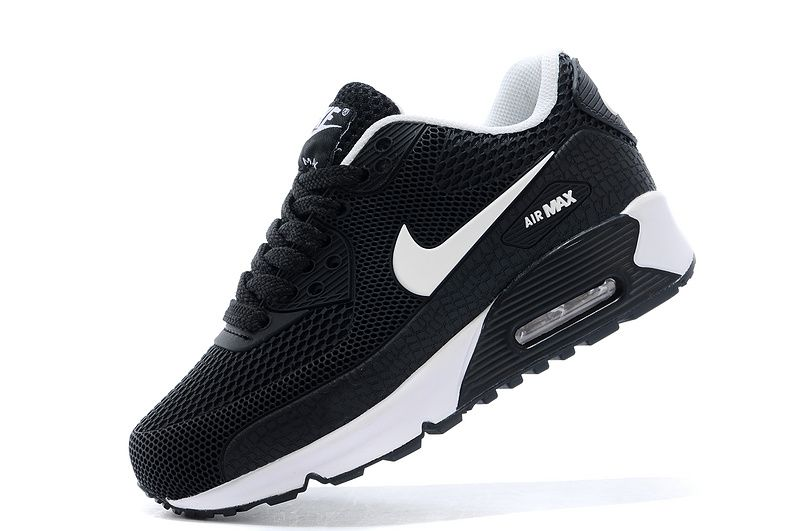 nike air max shoes black and white