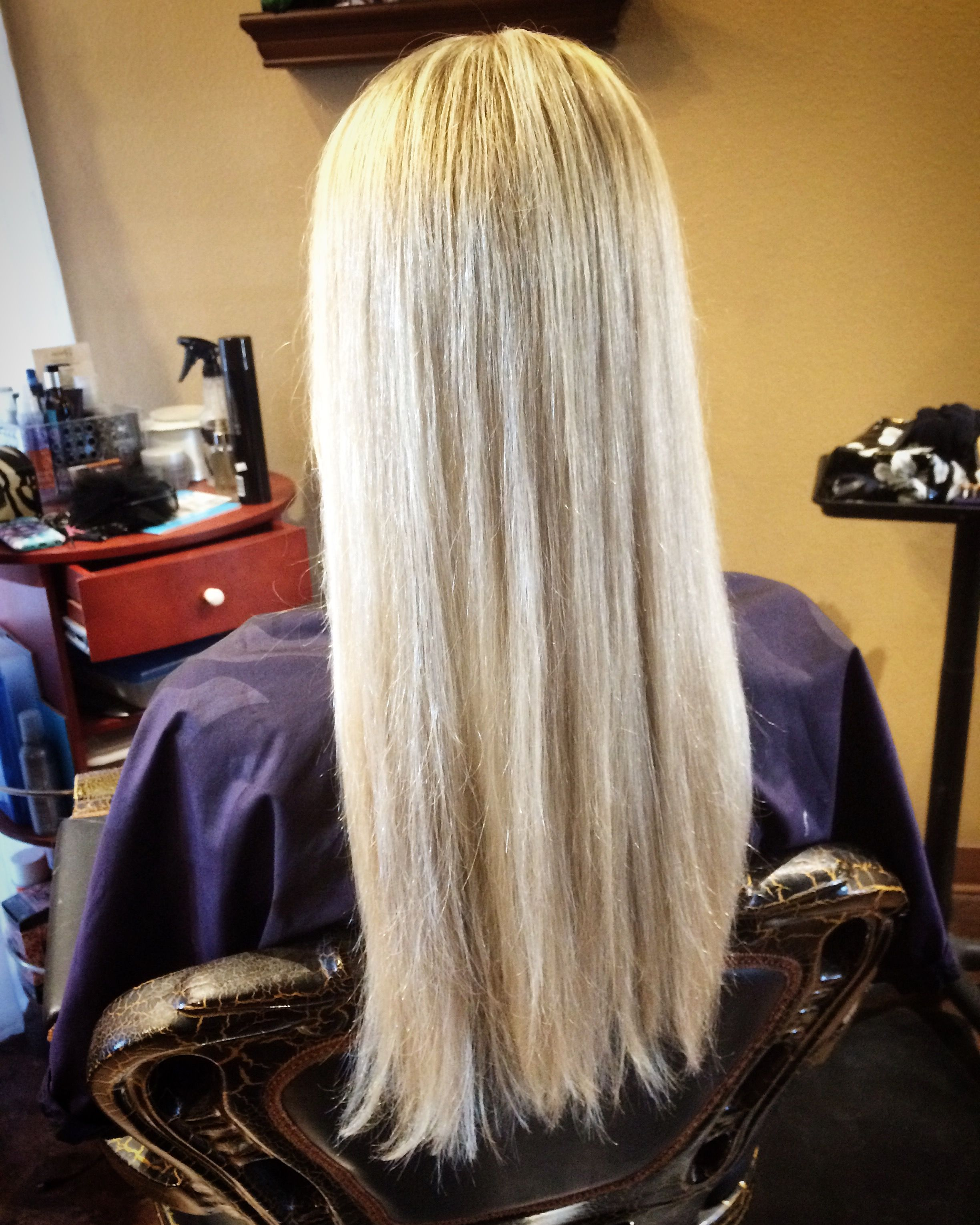 Pretty Blonde hair color with layers  Hair By Melissa in